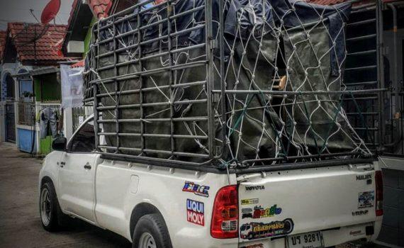 รถเฮี๊ยบกบินทร์บุรี บริการรถเฮี๊ยบ รถบรรทุกติดเครน 3 ตันถึง 10 ตัน มีทั้ง 6 ล้อและสิบล้อ (33)